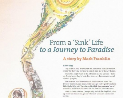 sink life mark franklin story
