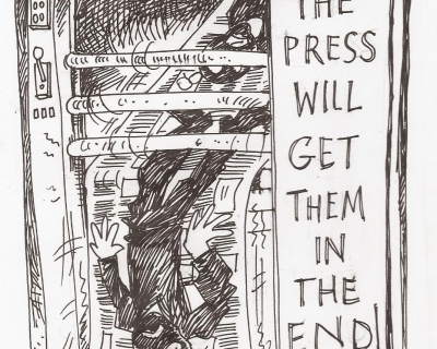 the press will get them Charlie Hebdo