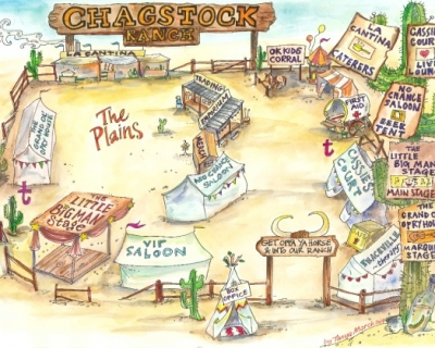 Chagstock Festival 2014 site map