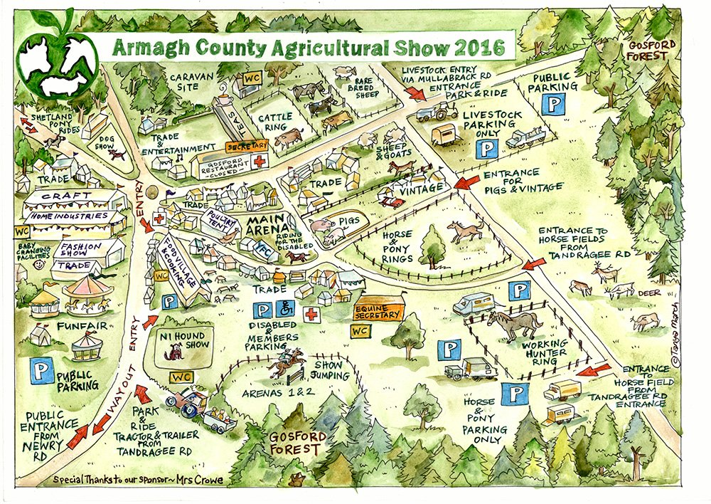 Armagh County Agricultural Show sitemap - Tanya March ... on map of northumberland county pa townships, map of northern ireland, map of county armagh ireland,