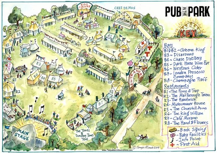 Pub In The Park -Bath sitemap