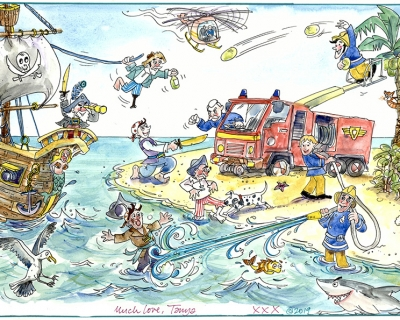 Fireman Sam v. Pirates