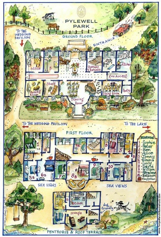 Pylewell Park floor plan